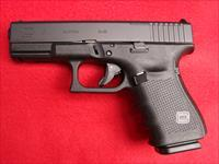 Glock 19 Gen 4 - 9mm Black with M.O.S. Optics System