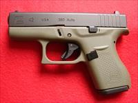 Glock Model 42 - 380acp - O.D. Green Frame  - NIB
