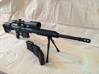 Barrett .338 MRAD Black With Scope,Case and Ammo-NEW!!