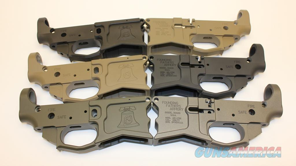 Founding Fathers Armory Billet Lower Receiver, Free Shipping, Model  AR-1791, 7 CERAKOTE Colors AR-15