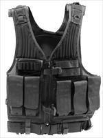DRAGO First Strike TAC Vest BLK Quick Access 7 Mag Pouches