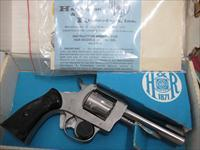 "H&R MODEL 733 4"" NICKEL~LIKE NEW~"
