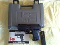 Heckler & koch, usp compact, new never fired, 40 cal.