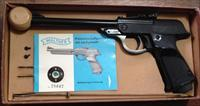 WALTHER LP MODEL 53 TARGET AIR PISTOL