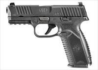 "FN USA FN 509 STRIKER FIRED 9MM 4"" BARREL POLYMER FRAME BLACK FINISH 2-17RD MAGAZINES 3 DOT SIGHTS NON-MANUAL SAFETY UPC: 845737008079"