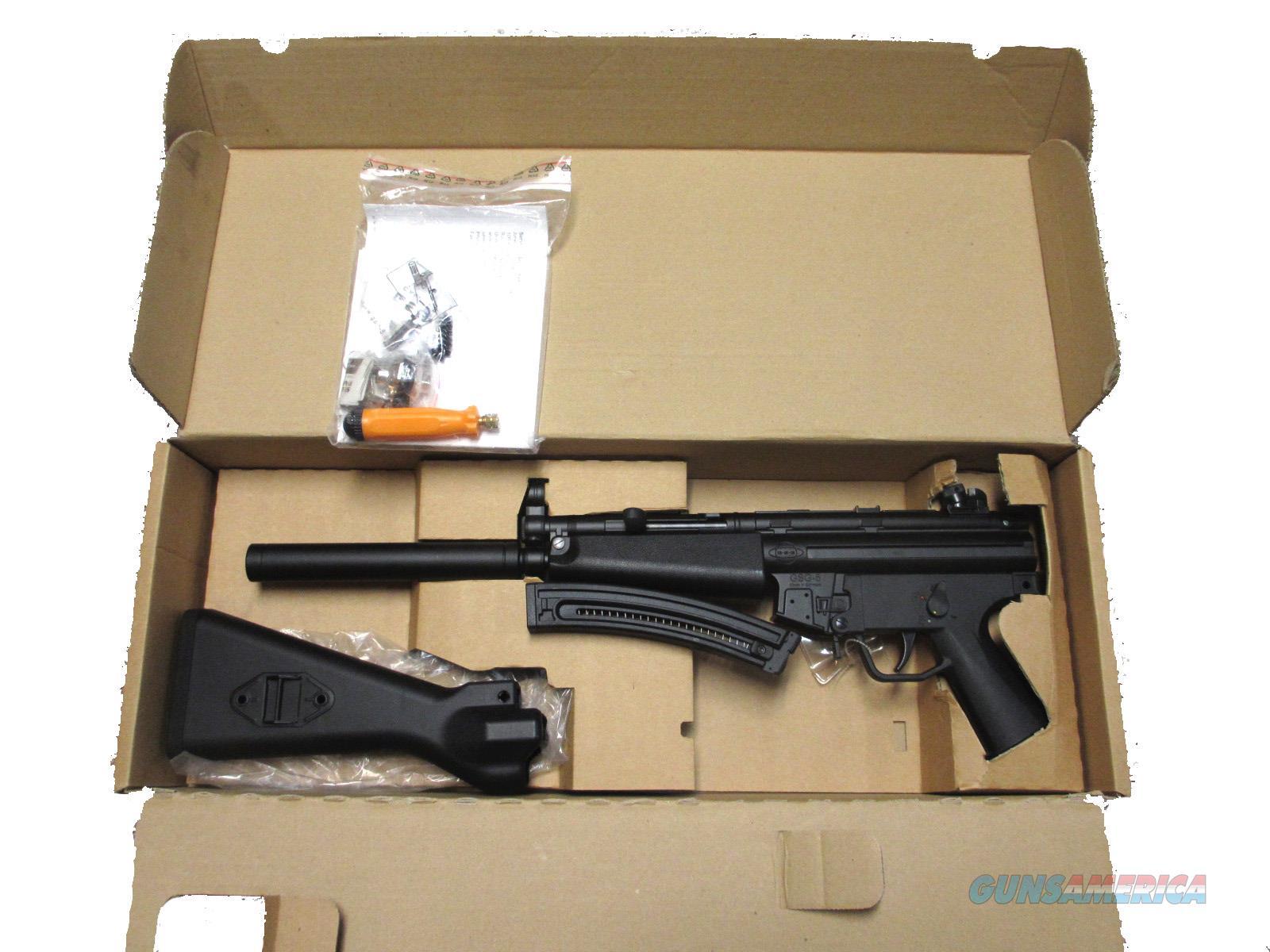 ATI GSG-522 HK  22LR MP5 Clone Original model from 2008 NIB UPC:  892756002007 MODEL: GERG2222MP5