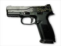 FNH FNS 9 FNS-9 Semi Auto Pistol Black Digital Camo Finish 9mm Model: 66752  UPC: 845737006709