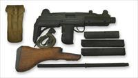 Vector UZI Carbine 9mm NIB Deluxe Package Extra mags Extra Wood stock + Mag Pouch