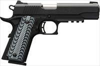 "Browning 1911-380 Black Label Pro Pistol 380 ACP 3 5/8"" Barrel G10 Grips Matte Black Night Sights 8 Rd NIB UPC: 023614441564"