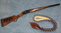 "Modified 12-gauge Remington Spartan SPR220F coach gun w/ 20"" barrels and exposed hammers"