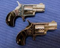 **PRICE REDUCED** NAA 22-S ENGRAVED MATCHED PAIR CONSECUTIVE SERIAL # NIB