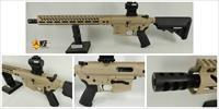 9mm AR-15, Rifle, Aluminum Mag Release, Billet Upper, Dedicated Lower, Custom Cerakote