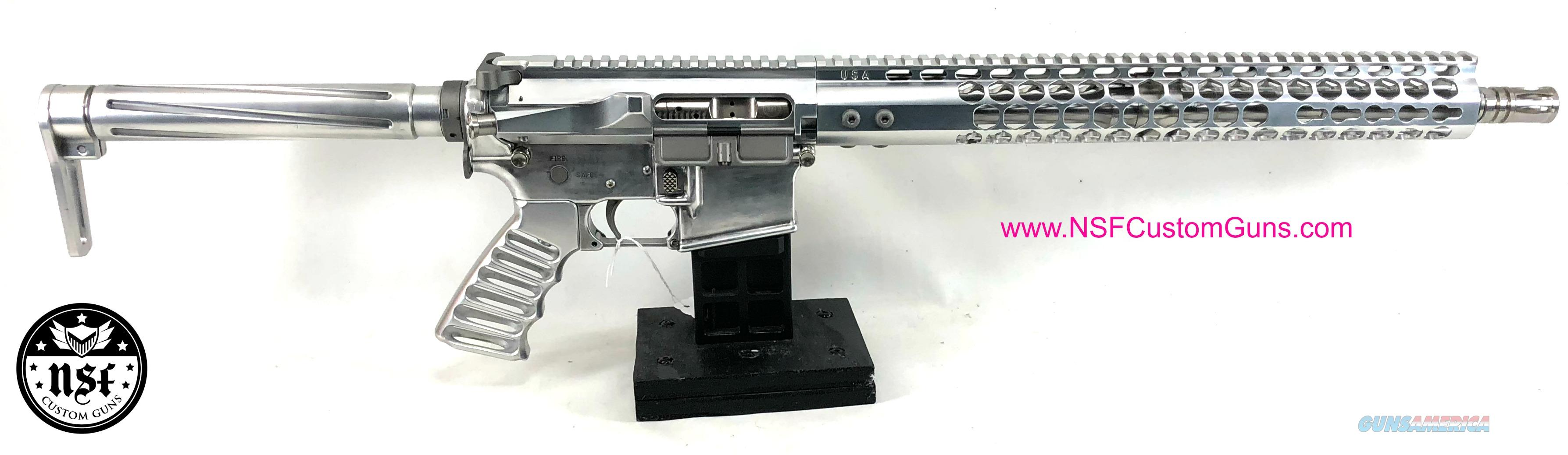 NSF Custom Guns SS-15 Polished Aluminum AR-15