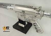 Polished Aluminum AR-15, Nickel BCG, SS Barrel, NSF Custom Guns