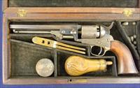 Colt Early C.1853 Cased 1849 Pocket Revolver 31 ca .31