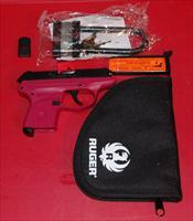 Ruger LCP .380ACP Raspberry Grip Frame & Extra mag