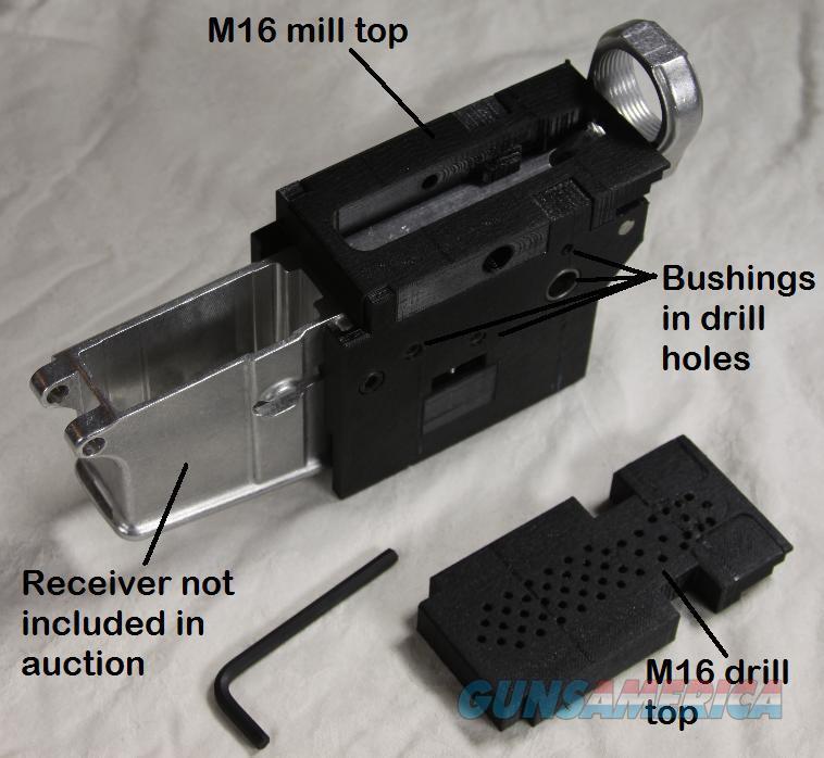 AR-15 80% jig with Class II options, M-16, M16, AR 15, AR15