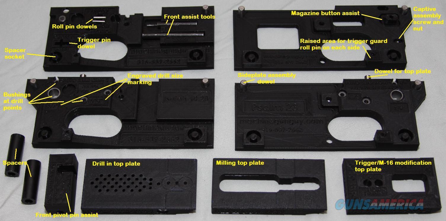 AR-15 / M-16 80% completion jig, AR 15, AR15, M16, M 16