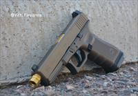 Glock 17 G4 MOS 9mm Agency Arms TiN Night Sights Burnt Bronze / Midnight Bronze Cerakote No CC Fee