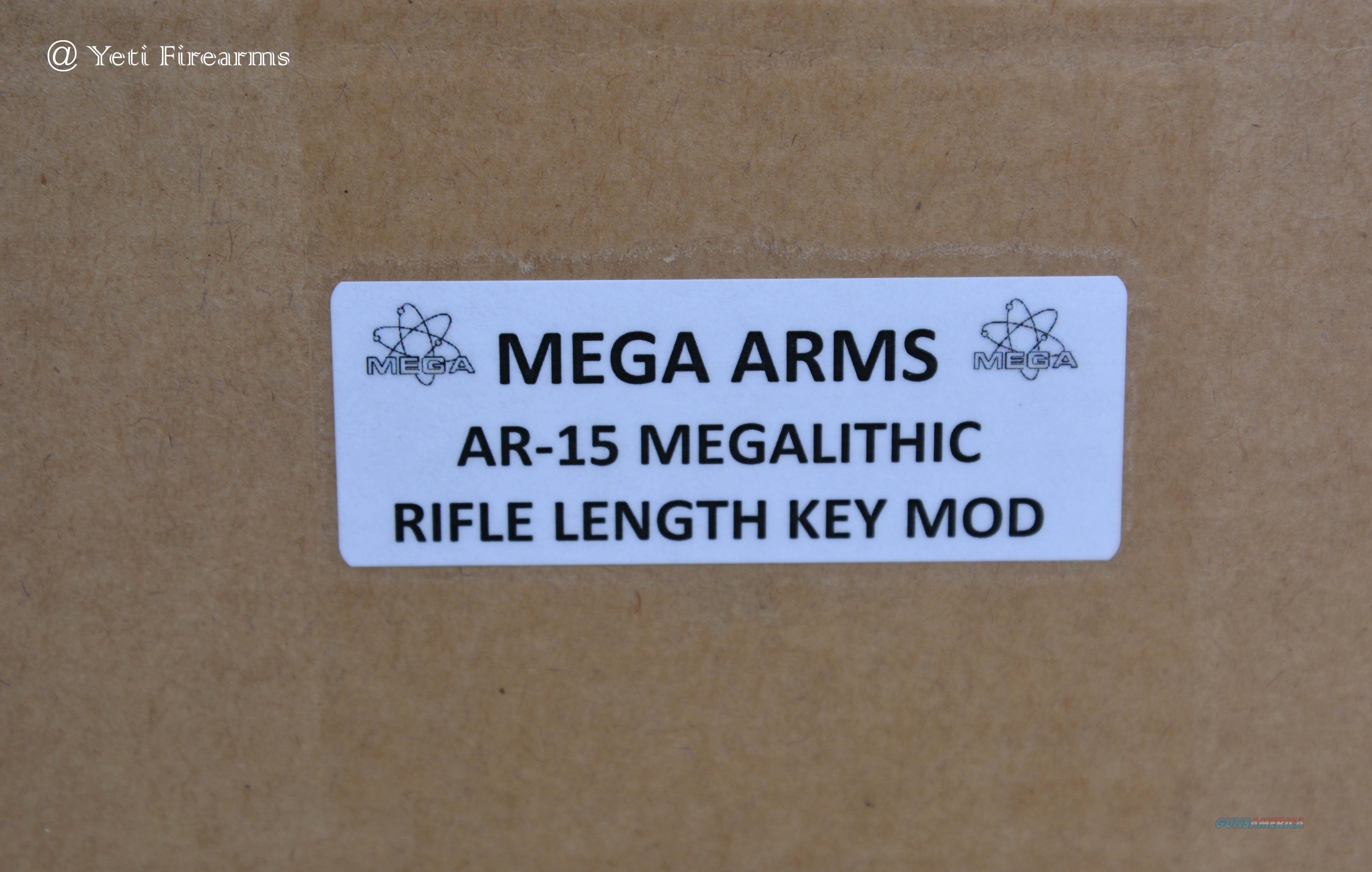 Mega Arms Megalithic AR-15 Upper MTS-440 Key Mod