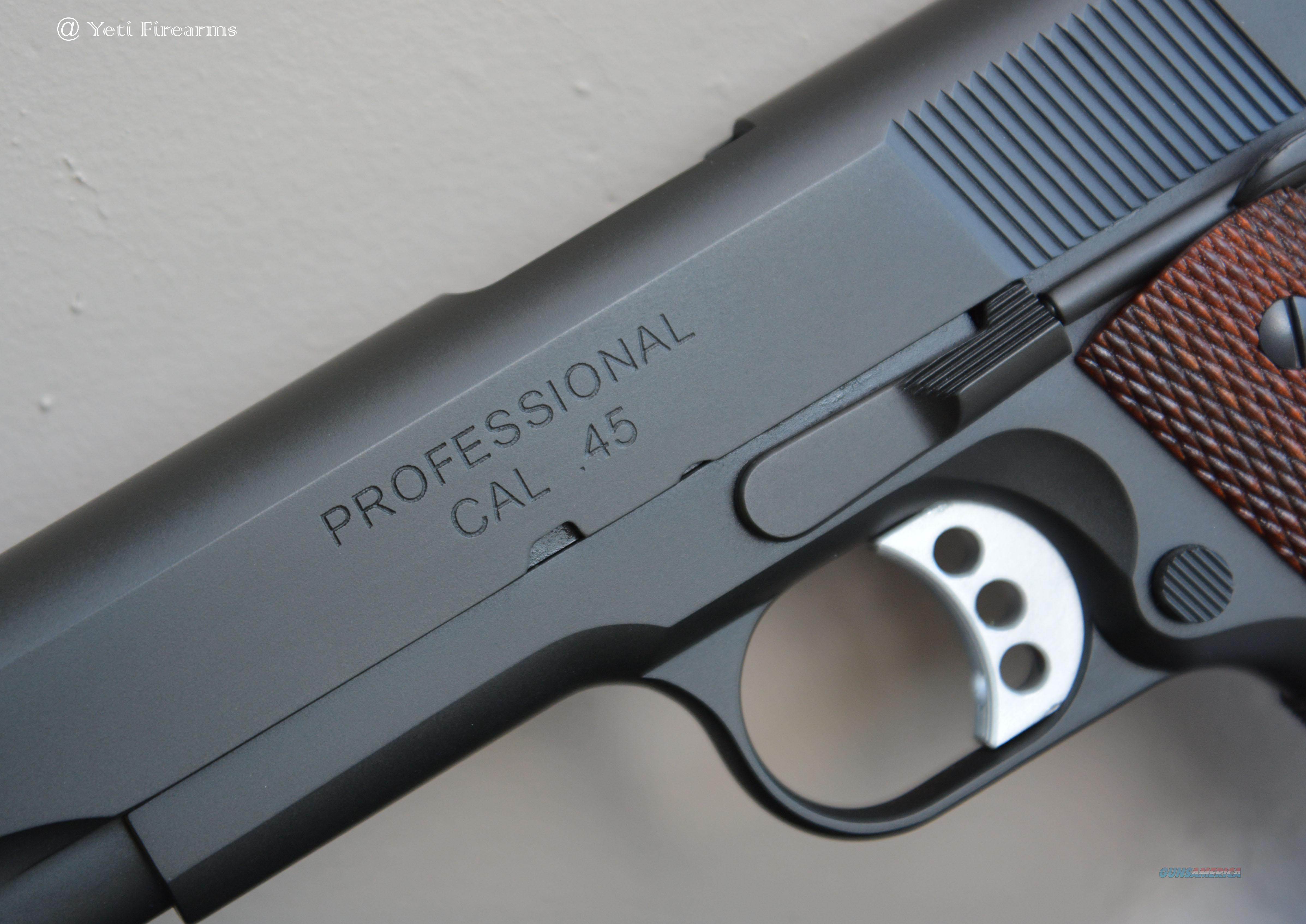 Springfield Professional 1911 45 Pc9111 No Cc For Sale