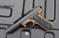 Ruger Mark IV 22/45 Tactical .22 LR Gray / Bronze