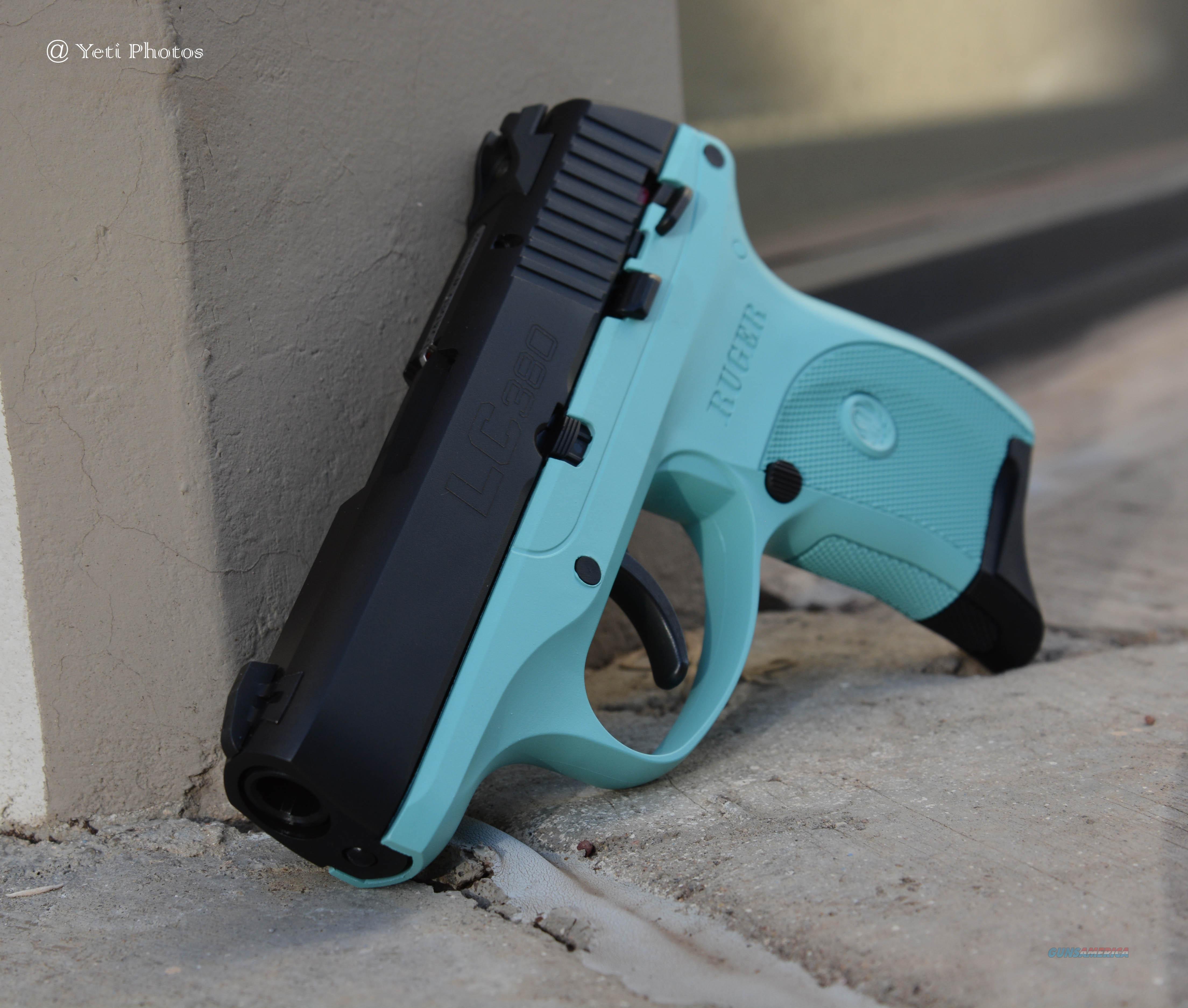 X-Werks Ruger LC380 robin\'s egg blue Frame .380... for sale