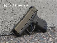 Glock 43 9mm Burnt Bronze & Midnight Bronze W/ NS