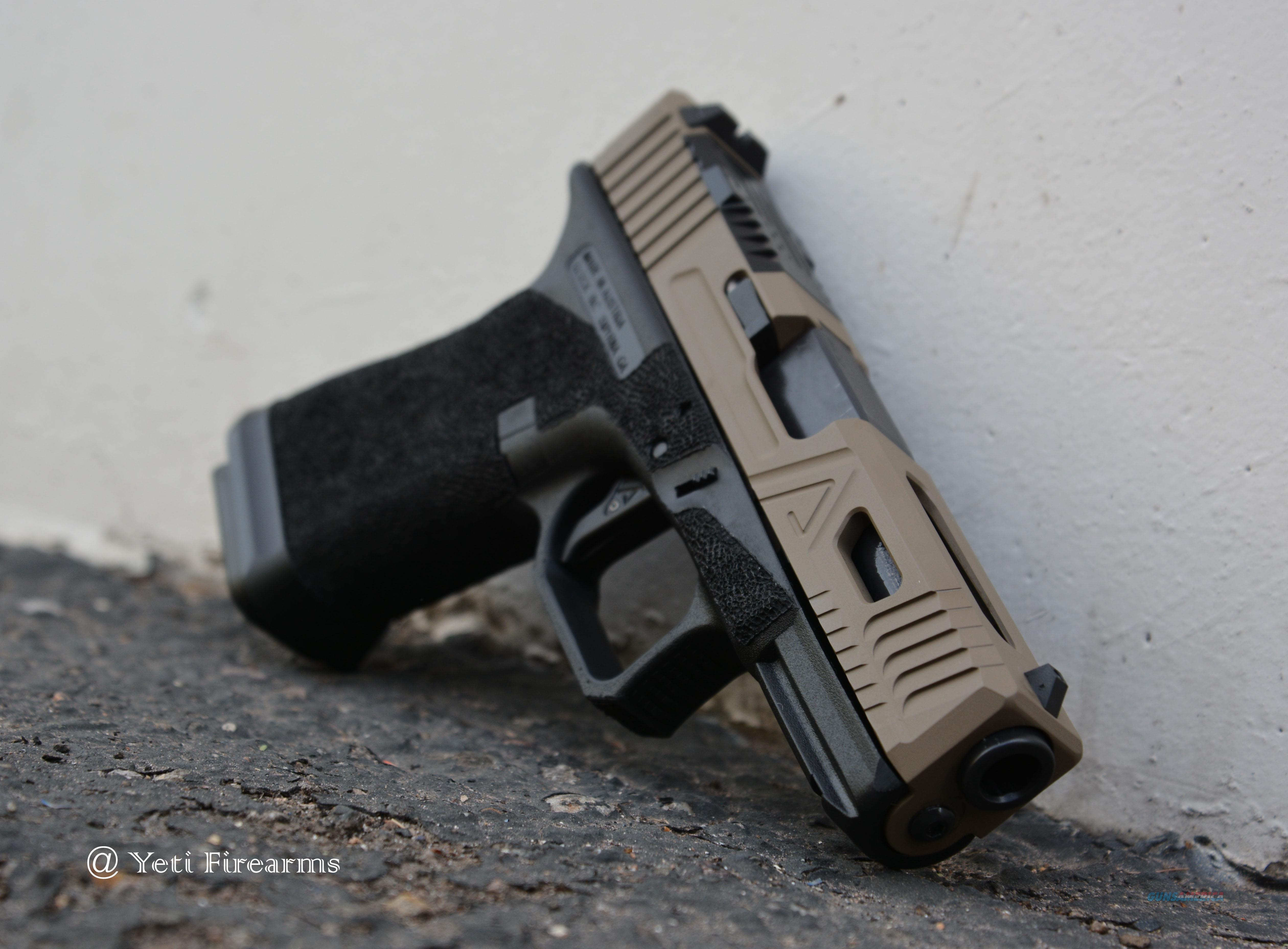Agency Arms Glock 19 G3 Urban FDE Slide W/ Magwell