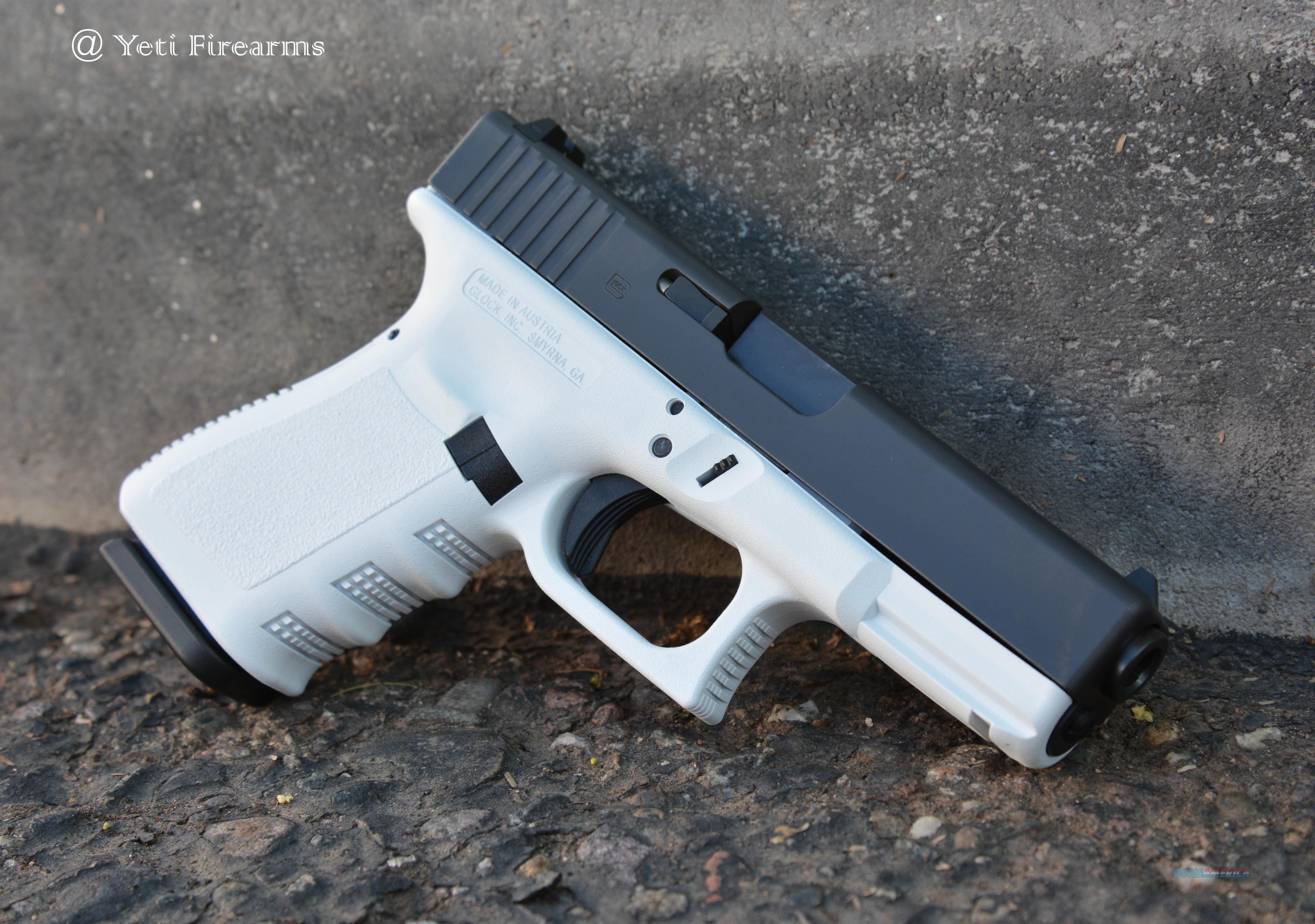 X-Werks Stormtrooper White Frame Glock 19 G3 9m... for sale