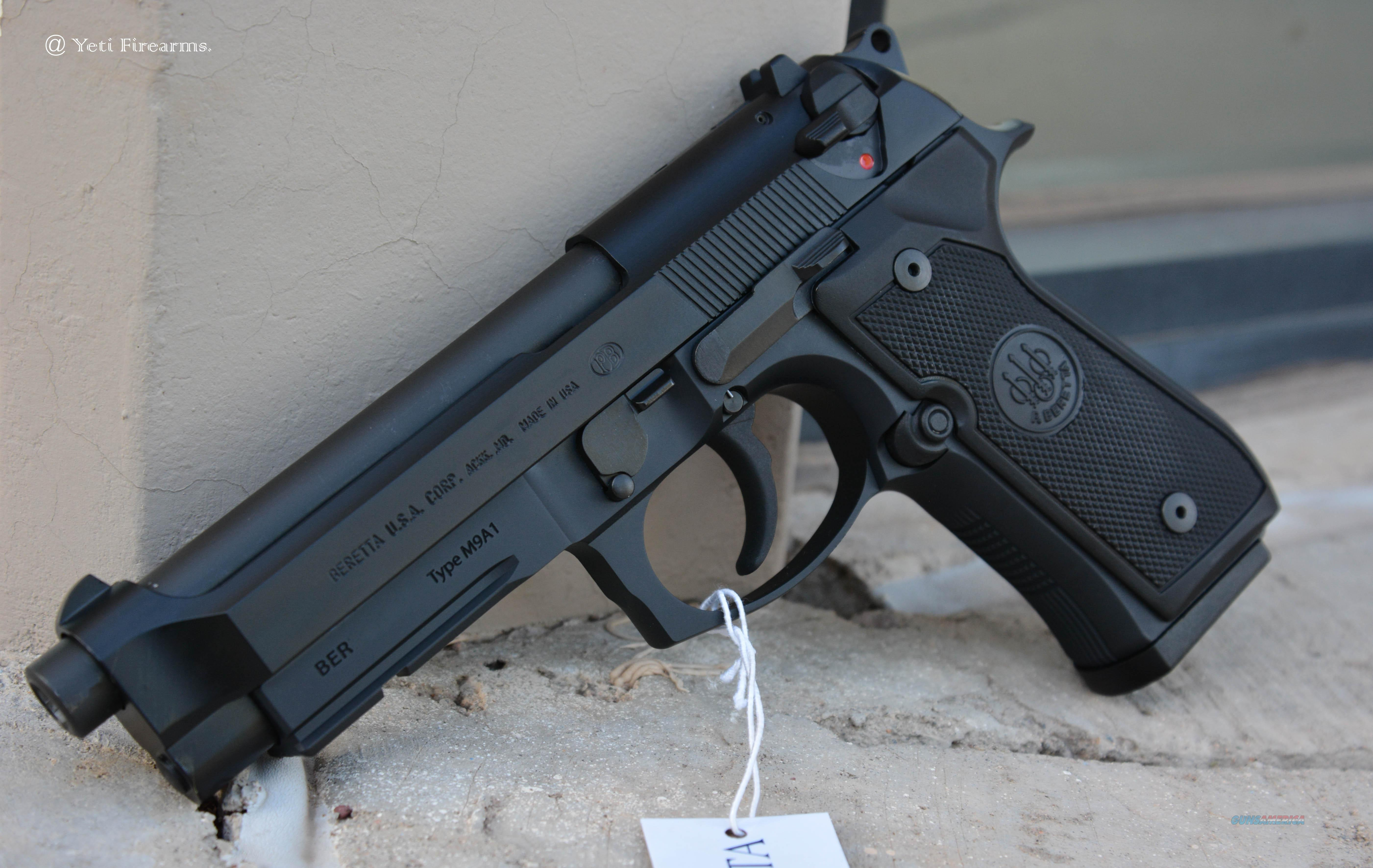 Beretta M9A1 9mm 15rnd Mags No CC Fee 92 M9 for sale