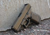 Glock 19 G5 9mm Midnight Burnt Bronze 15rnd Gen 5