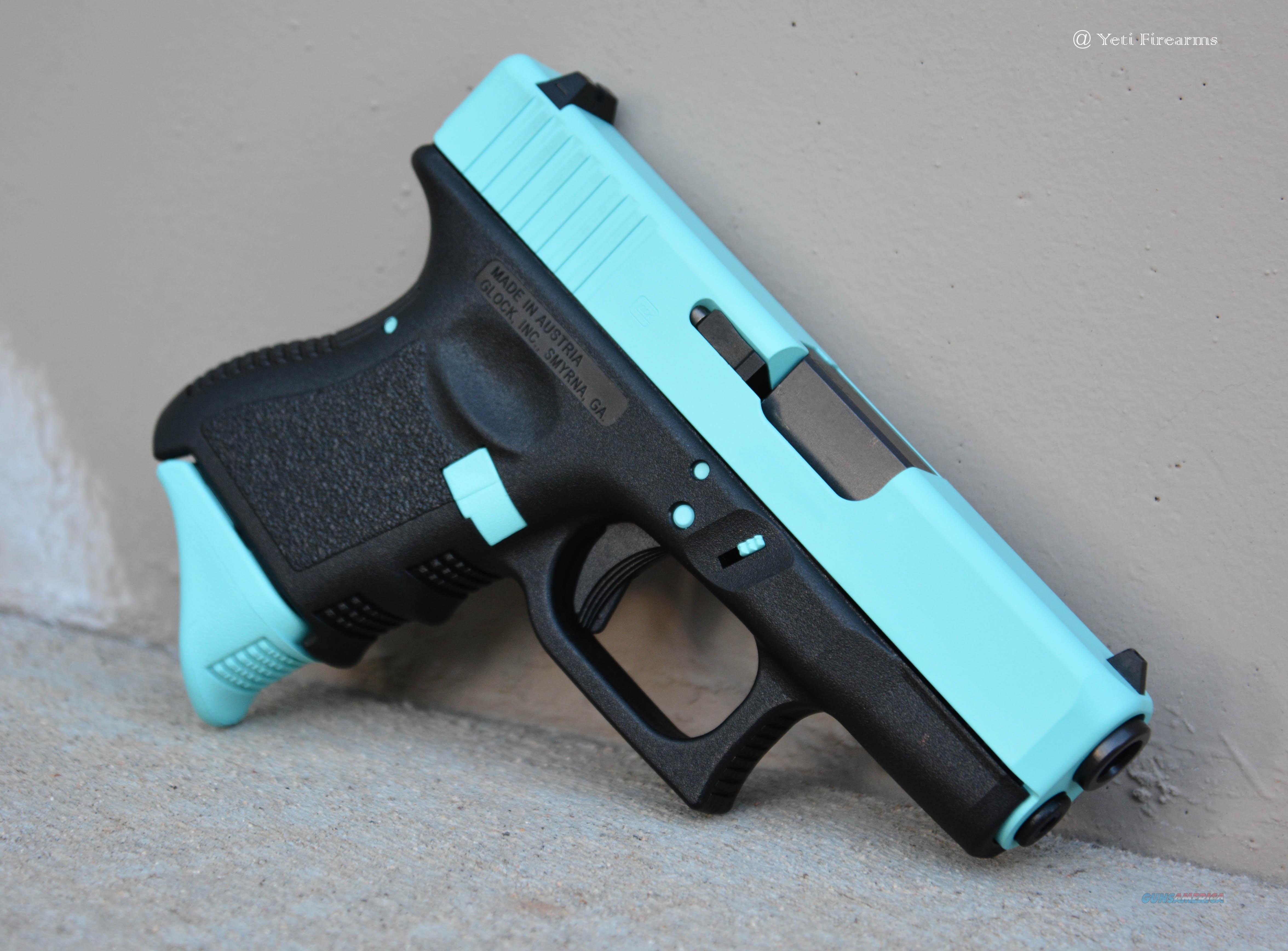 X Werks Glock 26 G3 9mm Robin S Egg Blue Pearce For Sale