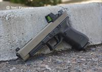 Glock 34 G4 9mm MOS X-Werks Magpul FDE RM06 Type 2 Agency Arms Trigger Trijcon RMR Cerakote 17rnd