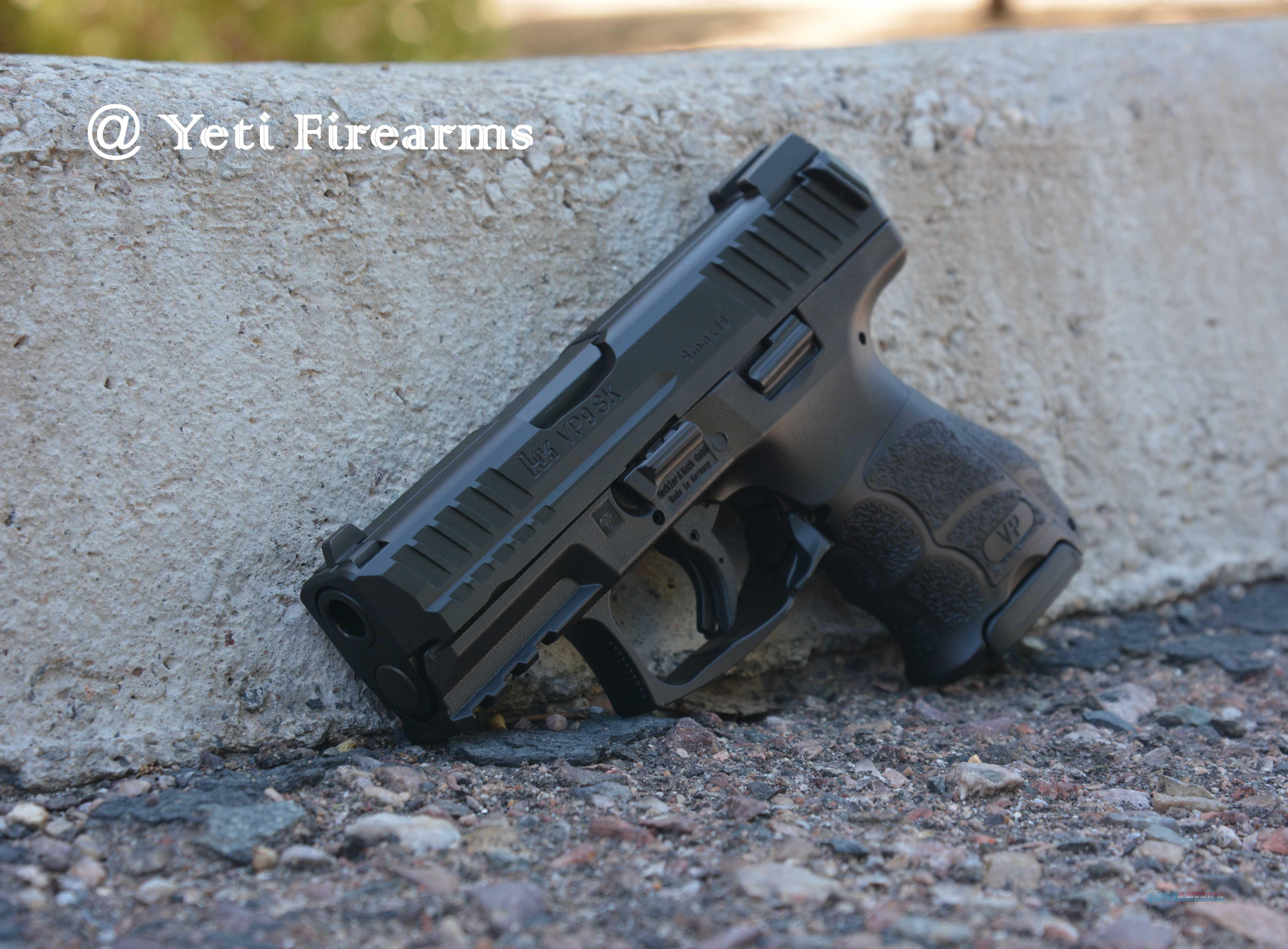 HK VP9SK 9mm Compact NS VP9 SK 700009KLE-A5 H&K