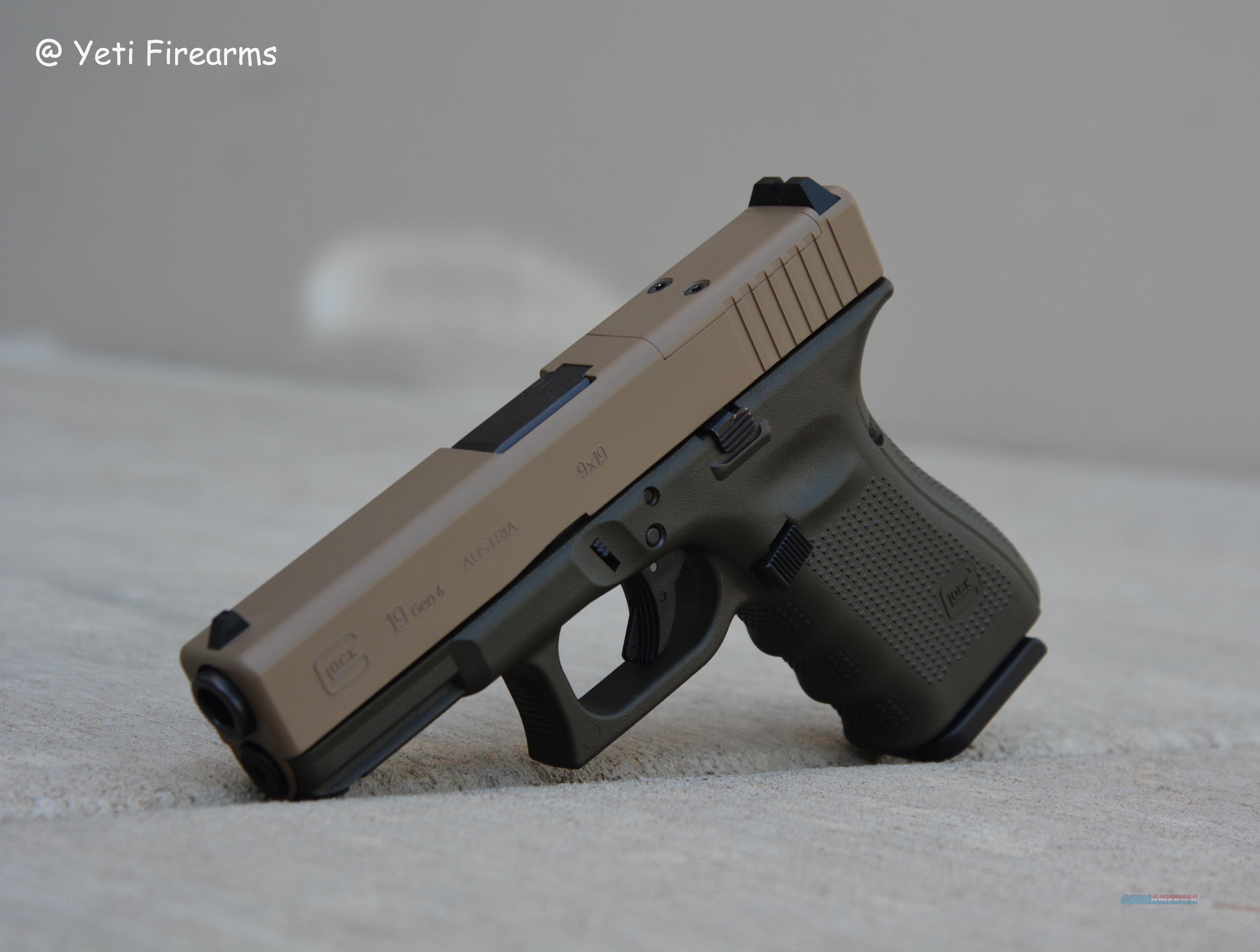 X-Werks Glock 19 G4 MOS 9mm Magpul FDE OD Gen 4