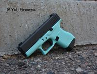 X-Werks Glock 43 Tiffany Blue 9mm W/ Night Sights