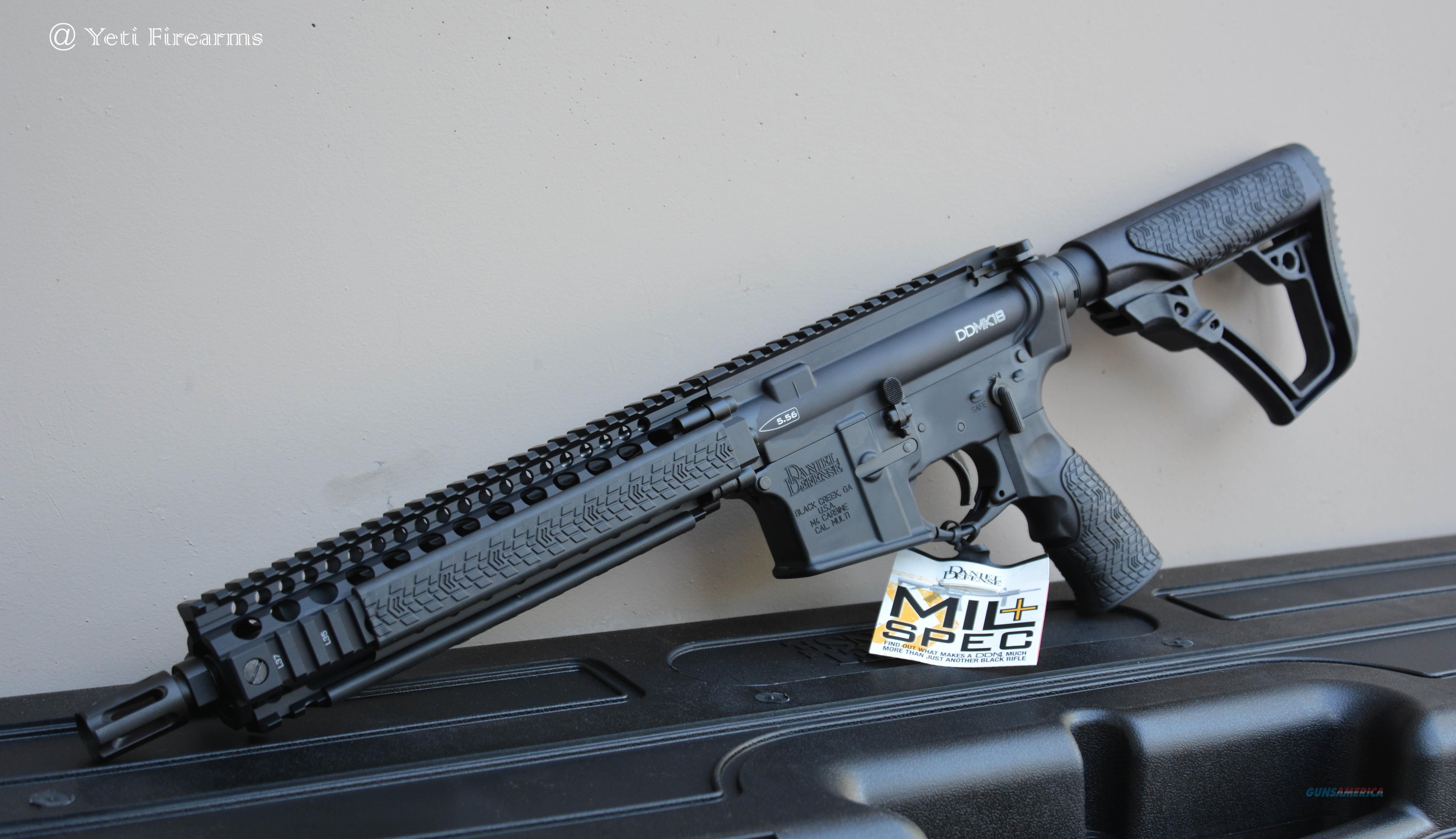 """Daniel Defense MK18 Complete SBR 10.3"""" 5.56 DD ... For Sale"""