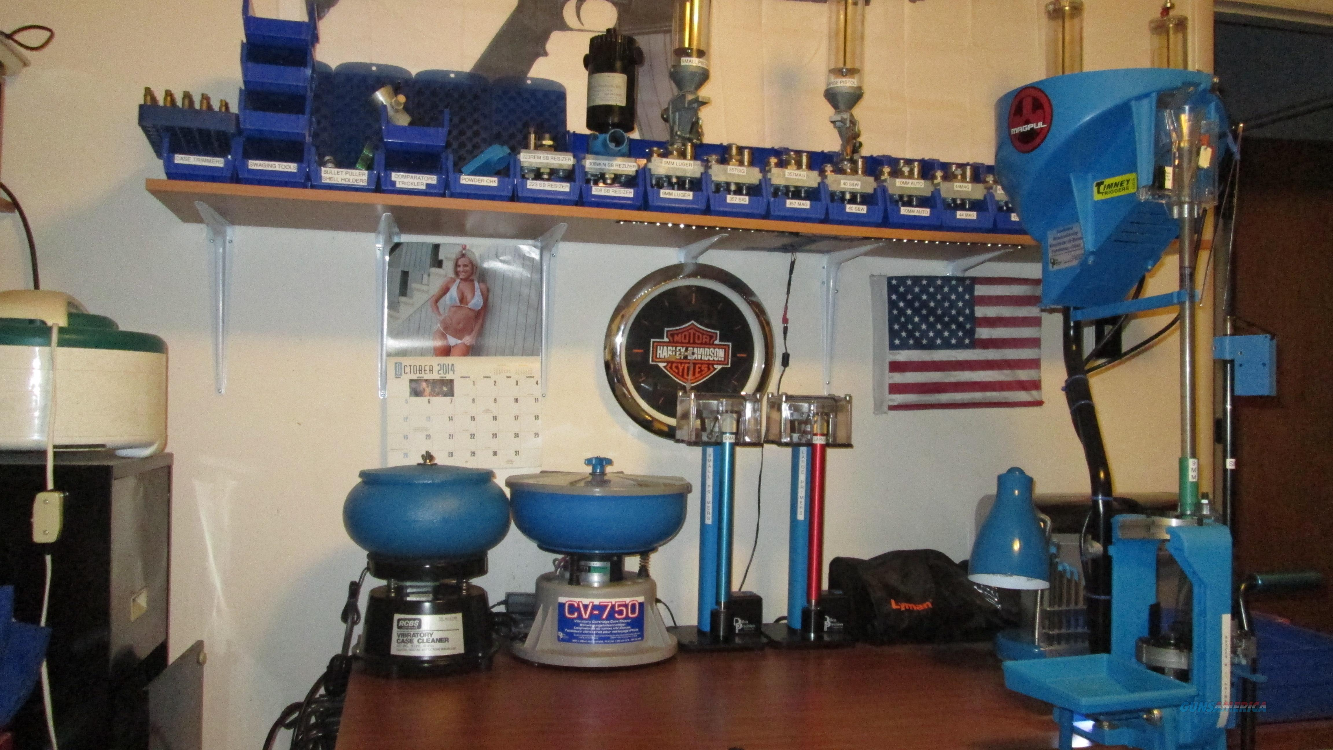 Massive Dillon XL 650 Reloading System Setup to load 13 Calibers