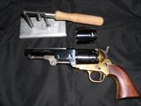 1851 Sheriff's .44 Cal.Replica Revolver with extra cylinder and ball loader