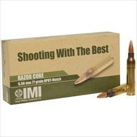 IMI Systems 5.56x45mm NATO 77 Grain HPBT Match 500 Round Case