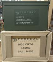XM855 Lake City Green Tip 62gr  5.56 AR-15 AR15 AMMO  800 Rounds in 50 Cal Sized Ammo Can XM855LPCC800