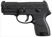 Sig Sauer P320 Sub Compact 9mm Comes with 2 12rd Magazines and Holster 798681513512	 320SC-9-B