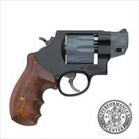 "Smith & Wesson 327 Performance Center 357 Mag 2"" 8rd Wood Grip Black Finish 170245 022188702453"