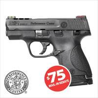 Smith and Wesson S&W M&P9 Shield Performance Center Ported 9mm Pistol 10108 022188866063 ONLY $324.99 after Mail in Rebate!