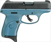 Ruger LC9S 9mm Striker Fire Titanium Blue With Manual Safety 3265