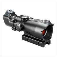Bushnell 1X MP 1x32 Red/Green Dot Scope T-Dot Reticle with Integrated Low Profile Sights AR730132C