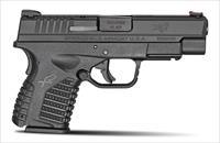 "Springfield Armory XDS-.45 4"" Black Pistol ESSENTIALS KIT - XDS94045BE"