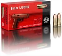 RUAG GECO Match 9mm 124 Grain FMJ Bulk Case 1000 rounds 2318629