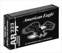 Federal Lake City 223 Rem 55 gr FMJBT AR-15 Ammo 500 round case AE223JLC 029465062330